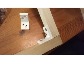 1/2 inch woodscrew bracket