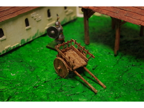 Saxon Rustic Cart