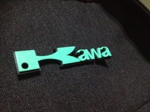 key chain kawasaki
