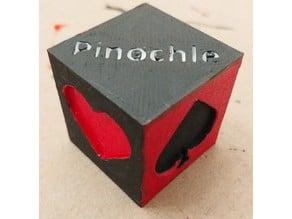 Pinchole & Euchre Suit Reminder Cube