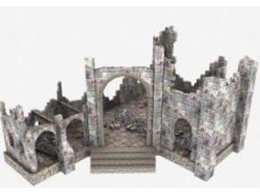 Cathedral Ruins - OpenGameArt - Terrain