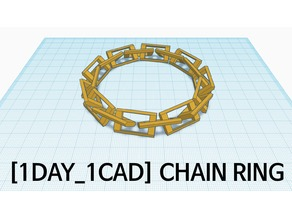 [1DAY_1CAD] CHAIN RING