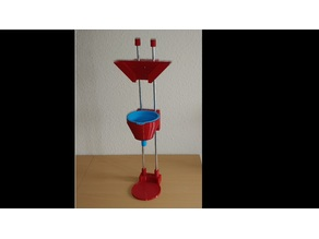 Funnel Holder for Silicone Funnel with Resin Vat Drip Stack
