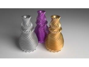 Flower Vase - Spiralized