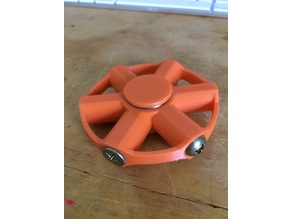 Fidget Spinner - 2 bearing, bolt weighted