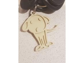 Labrador Key Chain