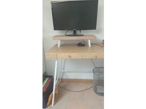 Screen stand for ikea LILLÅSEN style