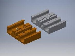 i3 x carriage IGUS bearings (16mm OD)