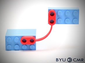 FlexLinks: Fixed-Fixed Beam - Initially Curved (LEGO Compatible)