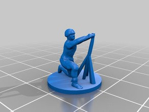 15mm or 1:100 WW2 Mortar Infantry - remix