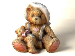 3d Reconstruction of bear ornament