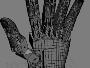 Unfinished Robot Hand