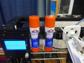 Jumbo Glue Stick Mount for TAZ or others with 20mm extruded frame.