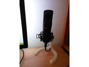 "Microphone Stand with 5/8"" thread"