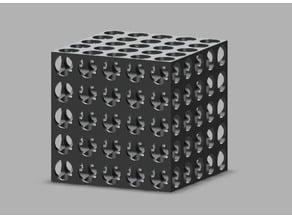 """Swiss"" Cube - 3D Printer Torture Test"