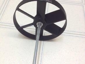Cordless drill boat propeller