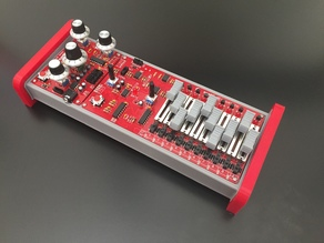 Sparkpunk Synthesizer and Sequencer Case