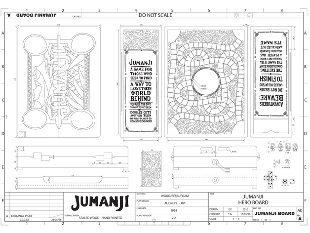 Jumanji Board by Audrey2 - Thingiverse