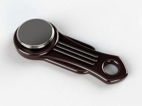 Holder for iButton key button. Art Deco