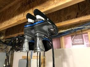 Ice Skate Hanger