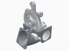 Support for fan in other side of Jhead Compact Extruder