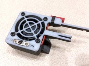 Zortrax M200 Dual Fan Holder (Remix)