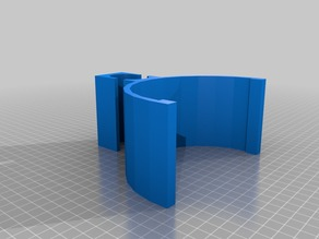 Metal detector arm cuff