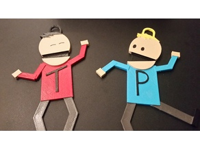 Terrance & Phillip - South Park Characters