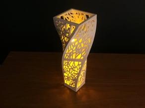Voronoi Spiral Centerpiece / Vase