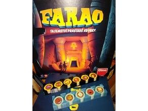 Farao Board Game Token Holder