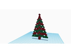X-Mas Tree (Dual-Extrusion)