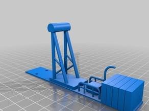 115mm crane top base