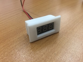0.28 Inch Mini Digital Voltmeter Case