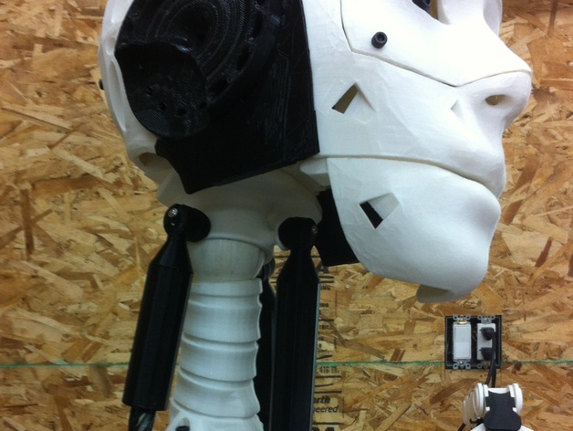 Articulating Neck Joint for InMoov by bhouston - Thingiverse