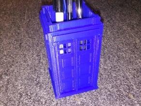 TARDIS Pen Holder