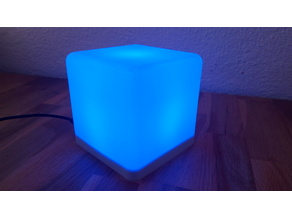 Color Cube Lamp