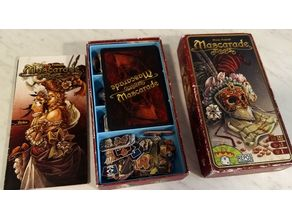 Mascarade Board Game + Expansion Insert