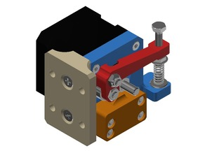 Compact DD Extruder for Prusa