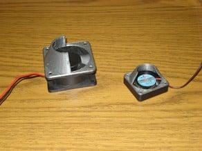 Minimal 40mm 60mm 80mm 120mm Fan Shroud