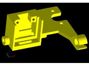 CR-10 Filament Sensor & Guide, Cable Strain Relief