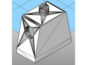 Openscad Minifigure Torso