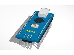 Arduino Nano - all pins down
