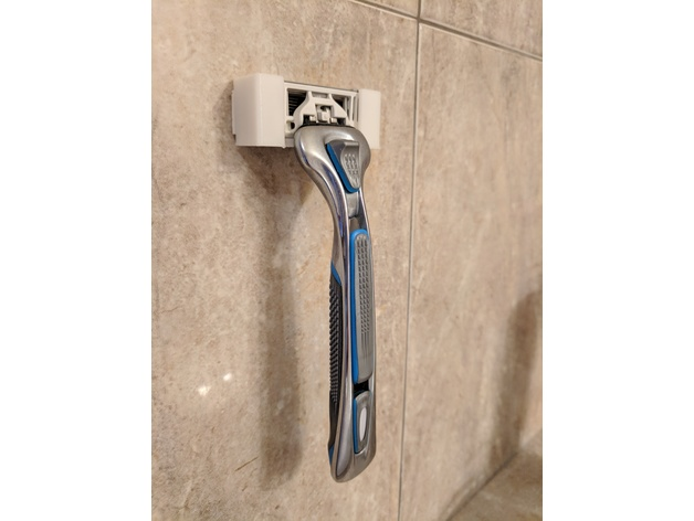 NEW Head Mirror For Shower Bathroom Wall With Shaving Razor Holder Accessories