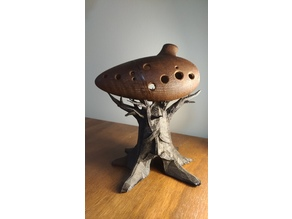 Great Deku Tree Ocarina Stand