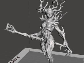 Dryad from spriggan