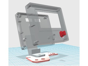 Prusa i3Steel 12864 LCD graphic display case