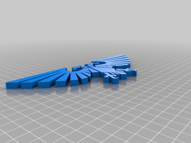 Imperial Aquila Two Headed Eagle By Vsaari Thingiverse