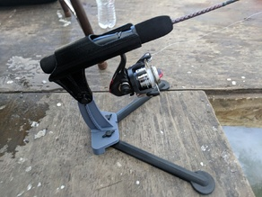 Ice Fishing Rod Holder