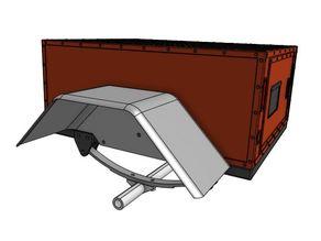 GH Scaler Trailer - Square Fenders