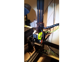 cr-10 direct extruder (with stock fan)